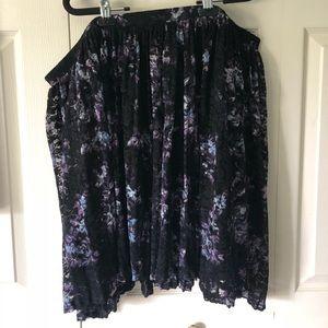 Lace Pattern Skirt